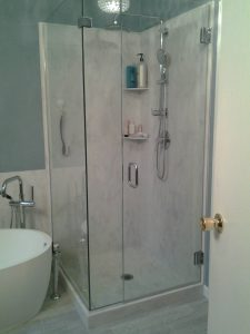 In Addition To Countertops, We Specialize In Creating Custom Built Shower  Surrounds. Using Acrylic Solid Surface Materials To Build Shower Surrounds,  ...